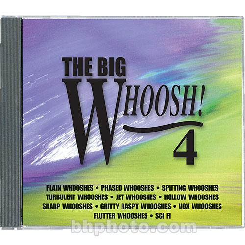 Sound Ideas Sample CD: The Big Whoosh 4 SI-BIG-WHOOSH4