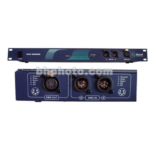 Strand Lighting DMX Merge Controller - 2 In, 1 Out - 65013