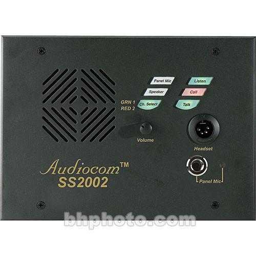 wired intercoms telex user manual pdf manuals com telex ss 2002 2 channel speaker station f 01u 118 745