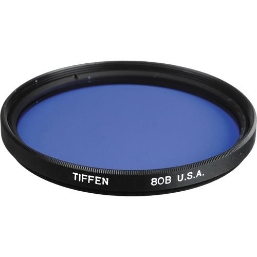Tiffen 125mm Coarse Thread 80B Color Conversion Filter 125C80B