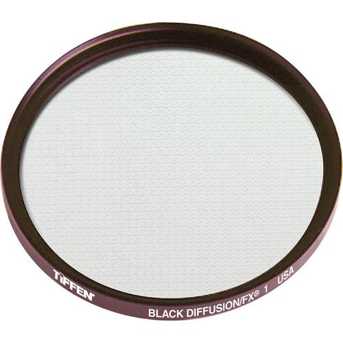 Tiffen 125mm Coarse Thread Black Diffusion/FX 1 Filter 125CBDFX1