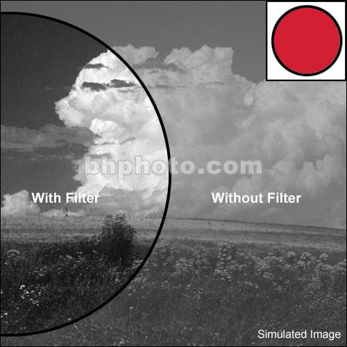 Tiffen 127mm Red 25 Glass Filter for Black & White 127R25