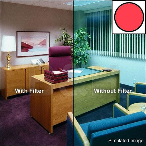 Tiffen 138mm Decamired Red 12 (Warming) Glass Filter 138DMR12