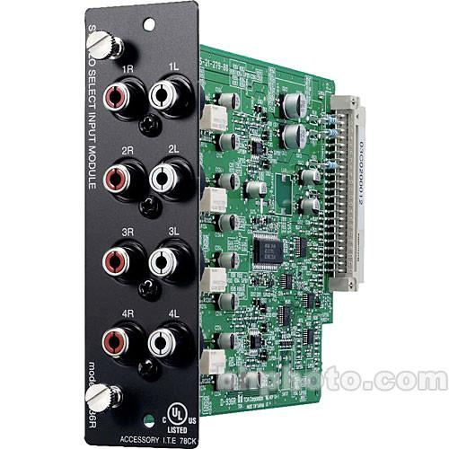 Toa Electronics D-936R - 4-Input Stereo RCA Module D-936R