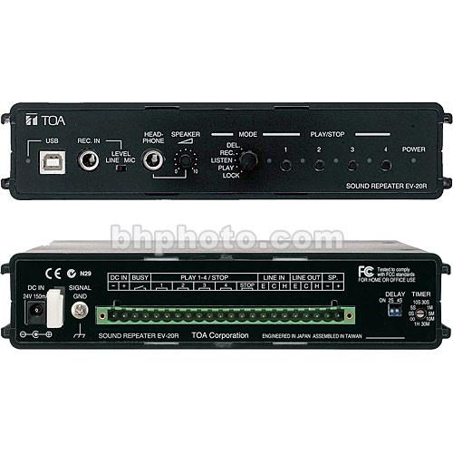 Toa Electronics EV-20R - Digital Message Repeater EV-20R US