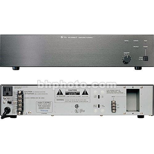 Toa Electronics P-906MK2 60 Watt Single-Channel P-906MK2 UL
