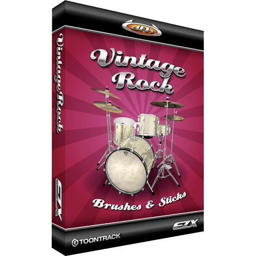 Toontrack Vintage Rock-Brushes and Sticks EZX Expansion TT108SN