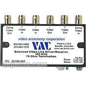 Vac 20550003 Balance Line Driver and Receiver 20-550-003