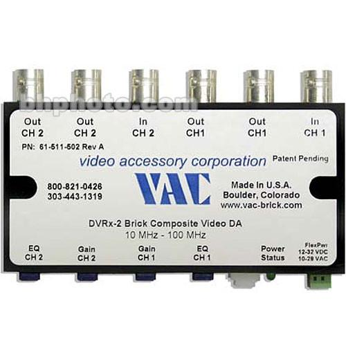 Vac DVRx-2 Dual 1x2 Channel Video Distribution 61-111-502
