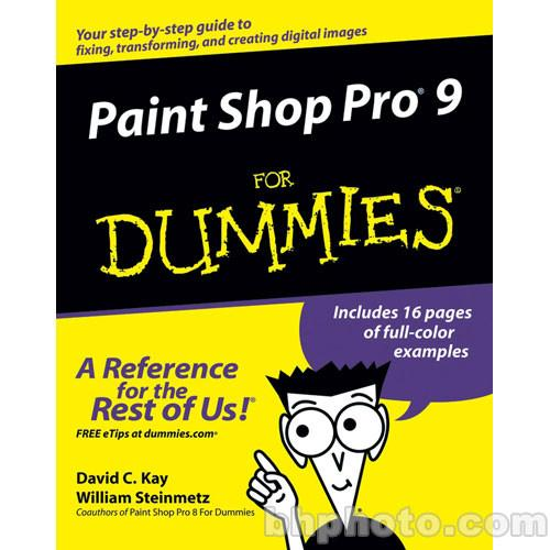 Wiley Publications Book: Paint Shop Pro 9 9780764579356
