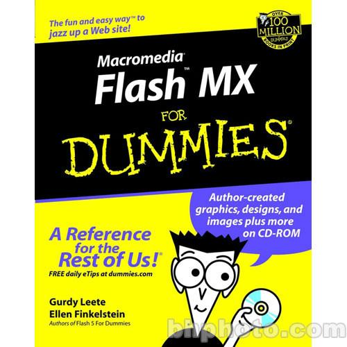 Wiley Publications Macromedia Flash MX for Dummies 9780764508950