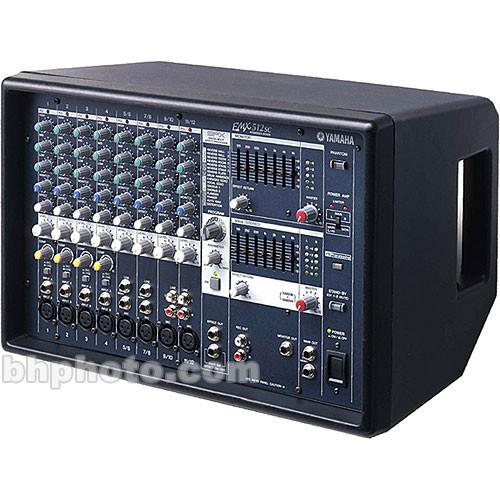 Yamaha  EMX-512SC - Stereo Powered Mixer EMX512SC