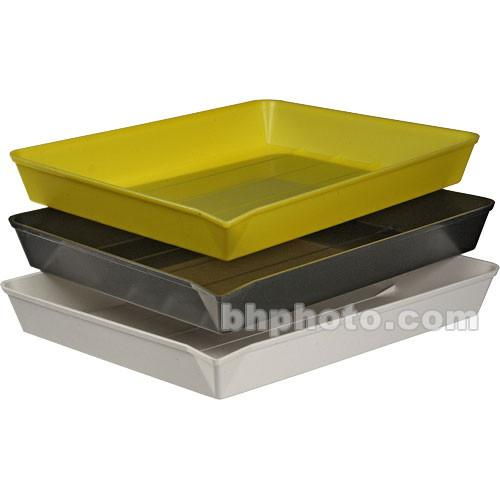 Yankee Plastic Ribbed Developing Tray 11x14