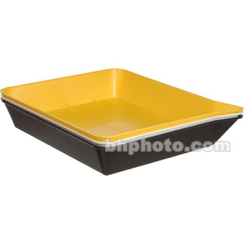 Yankee Plastic Ribbed Developing Tray 8x10