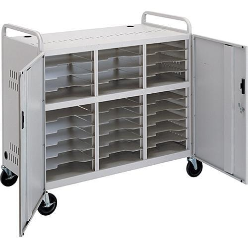 Advance CT-LS30 Laptop Storage Cart (Dove Gray) 5100