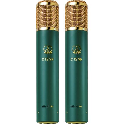 AKG  C 12 VR Microphone (Matched Pair) C12VR/SP