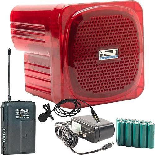 Anchor Audio AN-Mini Deluxe Package (Red) - AN-MINIDP RED LM-60