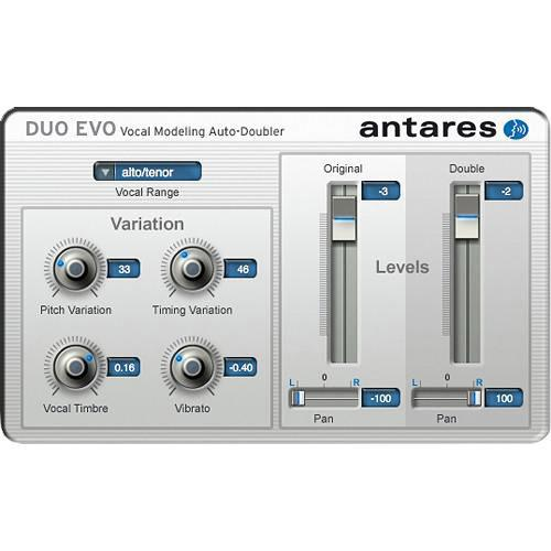 Antares Audio Technologies DUO Evo - Vocal Modeling 35302E