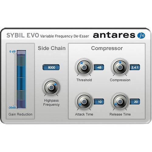 Antares Audio Technologies SYBIL Evo - Variable Frequency 35502E