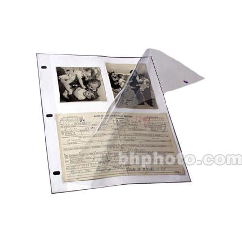 Archival Methods 3-Ring Page Protectors - 9 x 11