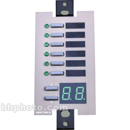 Ashly WR-5 - Wall-Mount Programmable Multifunction Remote WR-5