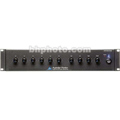 Australian Monitor AMIS250 250 Watt 6-Channel Mixer AMIS250