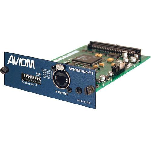 Aviom 16/o-Y1 A-Net Card for Yamaha Digital Products