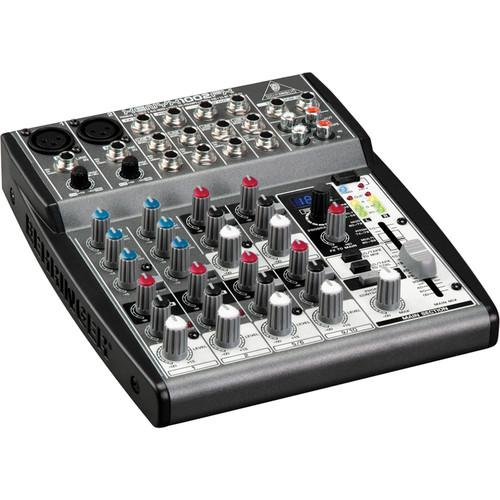 Behringer XENYX 1002FX 10 Channel Audio Mixer 1002FX