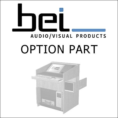 BEI Audio Visual Products Rack Mounted 2U Storage Drawer 5111003