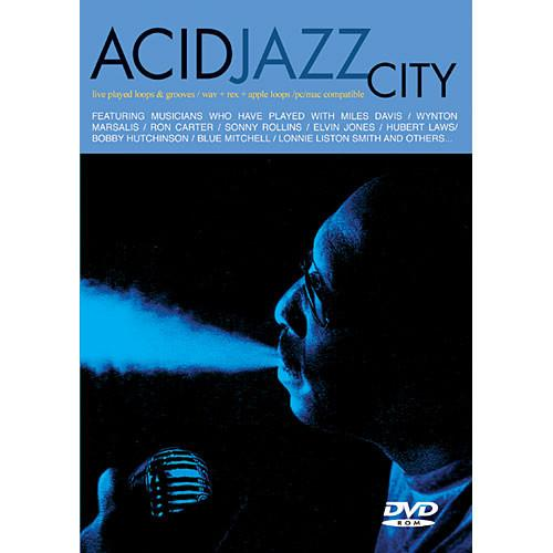 Big Fish Audio Sample DVD: Acid Jazz City AJC01-ORWX