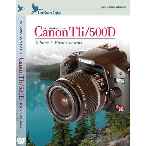 Blue Crane Digital DVD: Introduction to the Canon EOS BC124