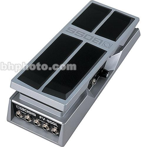 BOSS  FV500L Volume and Expression Pedal FV-500L
