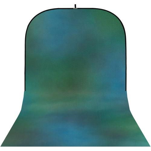 Botero #009 Super Collapsible Background (8x16', Green, Blue)