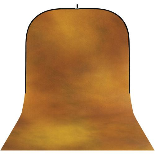 Botero #010 Super Collapsible Background (8x16', Brown, Gold)