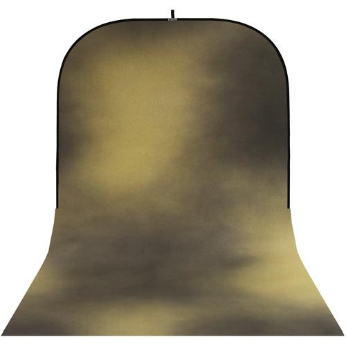 Botero #016 Super Collapsible Background (8x16', Brown, Gold)