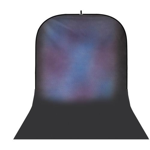Botero #018 Super Collapsible Background (8x16', Blue, Purple)