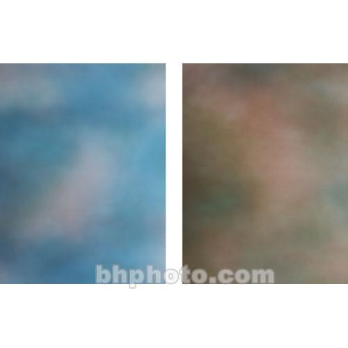 Botero 803 Double Sided Muslin Background, 10x24' - Blue/Brown