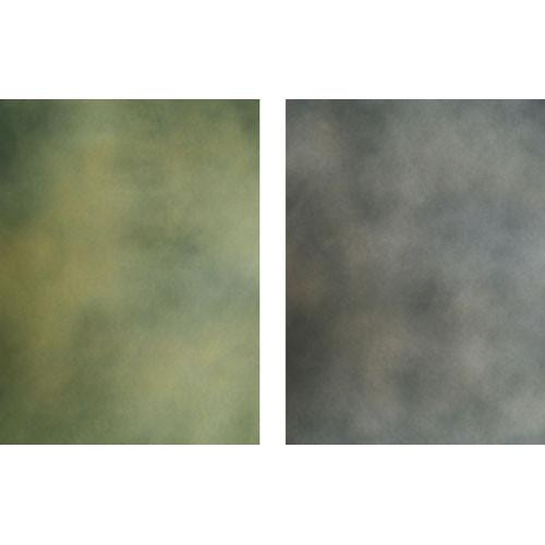Botero 809 Double Sided Muslin Background, 10x12' - Greenish