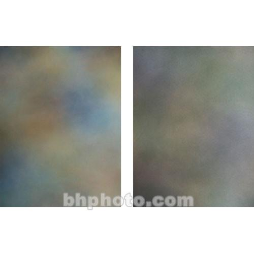 Botero 814 Double Sided Muslin Background, 10x24' - Blue,