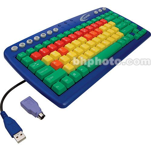 Califone My First Keyboard - USB/PS2 Keyboard for Children KB1