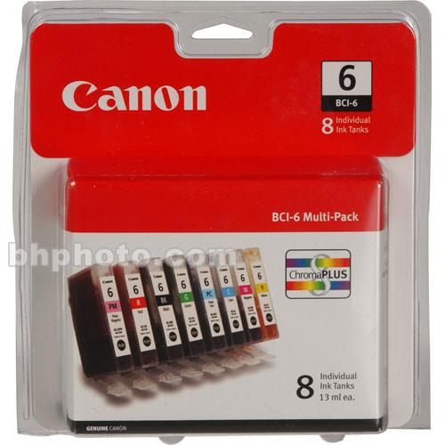 Canon  BCI-6 Ink Tank 8-Pack 4705A026