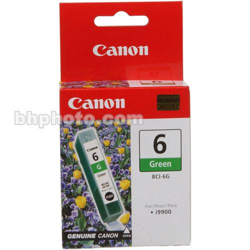 Canon  BCI-6G Green Ink Tank 9473A003