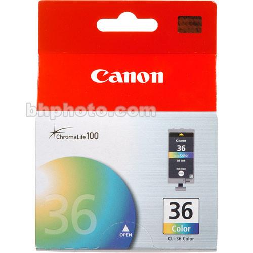 Canon  CLI-36 Tri-Color Ink Cartridge 1511B002