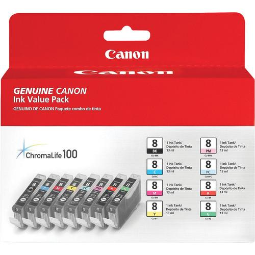 Canon  CLI-8 Ink Tank 8-Pack 0620B015