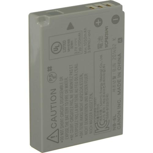 Canon NB-5L Lithium-Ion Battery Pack (3.7v, 1120mAh) 1135B001