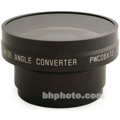 Cavision 0.6x Industrial Wide Angle Converter Lens PWC06X72