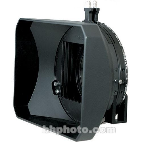 Cavision MB410H-2 4x4 Hard Shade Matte Box with Two MB410H-2A