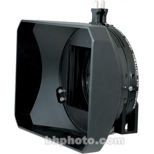 Cavision MB410H-2 4x4 Hard Shade Matte Box with Two MB410H-2M