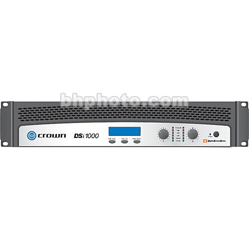 Crown Audio DSi-1000 2-Channel Solid-State Power DSI1000