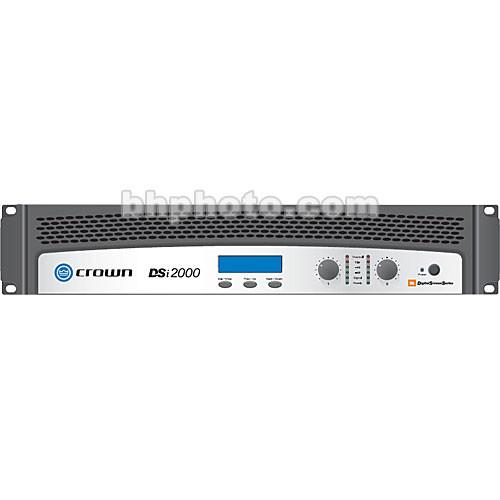 Crown Audio DSi-2000 2-Channel Solid-State Power DSI2000